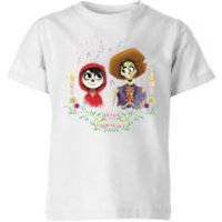 Coco Miguel And Hector Kids' T-Shirt - White - 11-12 Years - White